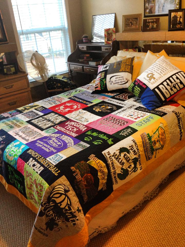 T Shirt Quilt Come Stitch With Me Llc